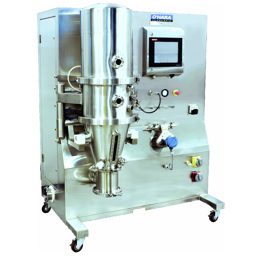 Laboratory Fluidbed Dryer/Granulator/Coater (1 kg - 5 kg)